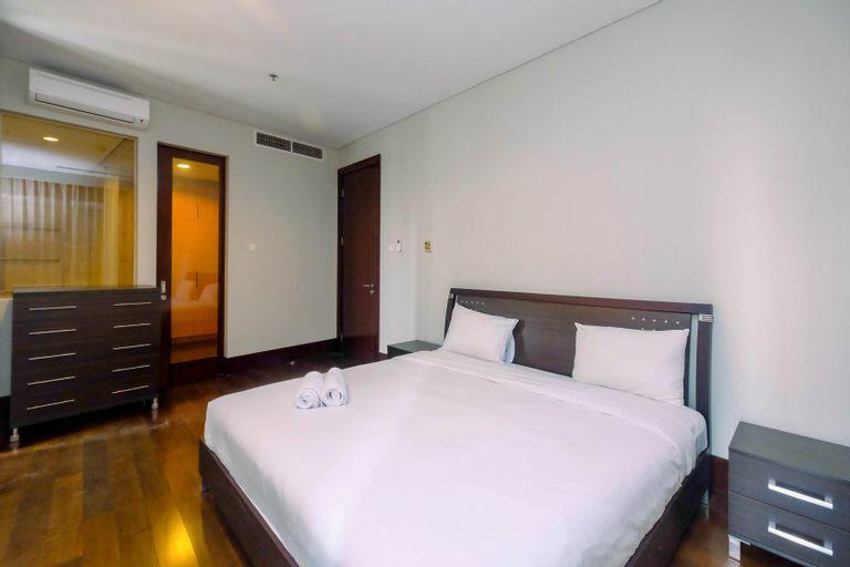 Premium and Spacious 3BR Pearl Garden Apartment By Travelio, Jakarta Selatan