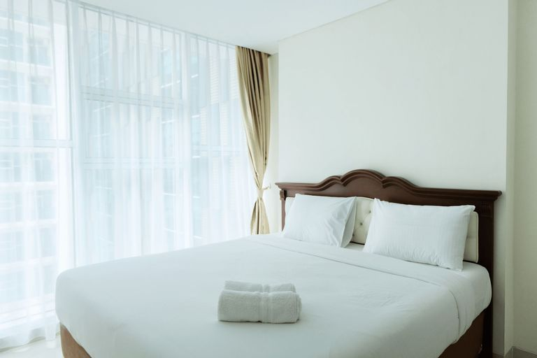 Best Price 1BR Brooklyn Apartment near Gading Serpong By Travelio, Tangerang Selatan