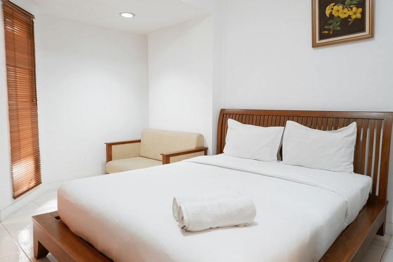 Pool View Studio Apartment Tamansari Sudirman By Travelio, South Jakarta