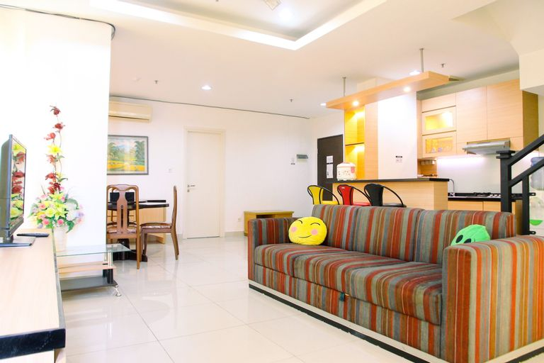 Very Spacious 3BR at Sunter Park View Apartment By Travelio, Jakarta Utara