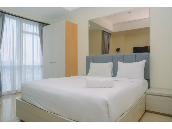 Pleasant and Simply Studio Room Menteng Park Apartment By Travelio, Central Jakarta