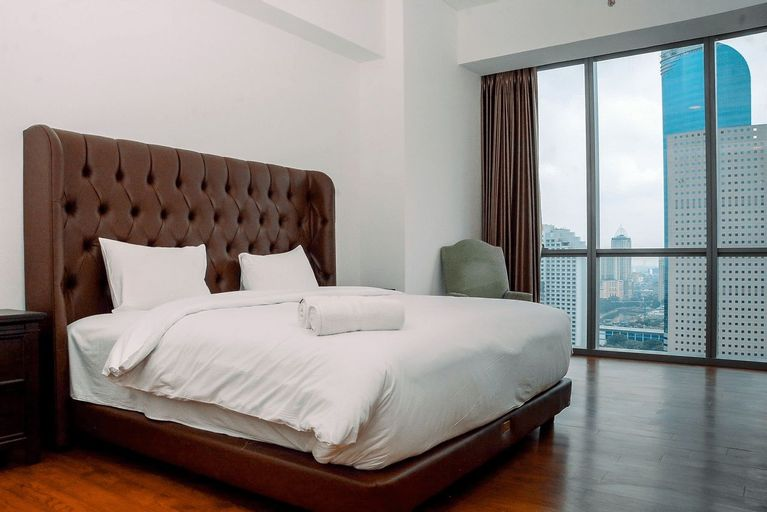 Luxurious 3BR Anandamaya Apartment By Travelio, Central Jakarta