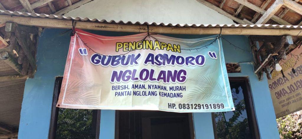 Gubuk Asmoro Nglolang, Gunung Kidul