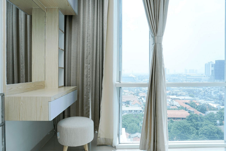 Cozy and Minimalist 2BR with City View at Atlanta Apartment By Travelio, Depok