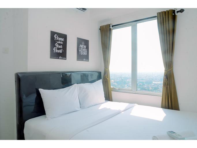 2BR Fully Furnished Minimalist Bassura City Apartment By Travelio, East Jakarta