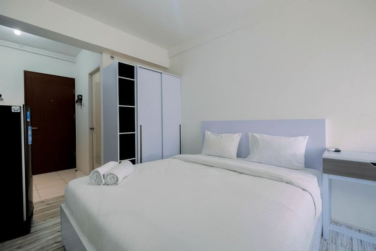 Affordable Price Studio at Jababeka Riverview Apartment Cikarang By Travelio, Cikarang