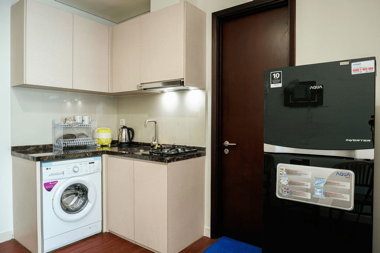 1BR at Puri Mansion Apartment near Puri Indah Mall By Travelio, West Jakarta
