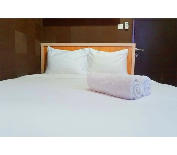 Best View 2BR Apartment at Tamansari Papilio By Travelio, Surabaya
