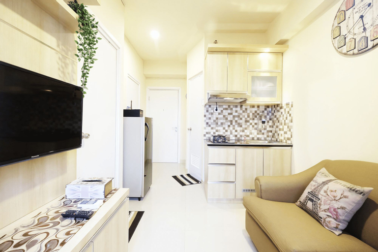 Cozy 2BR Green Pramuka Apartement Direct Access to GPS Mall by Travelio, Central Jakarta