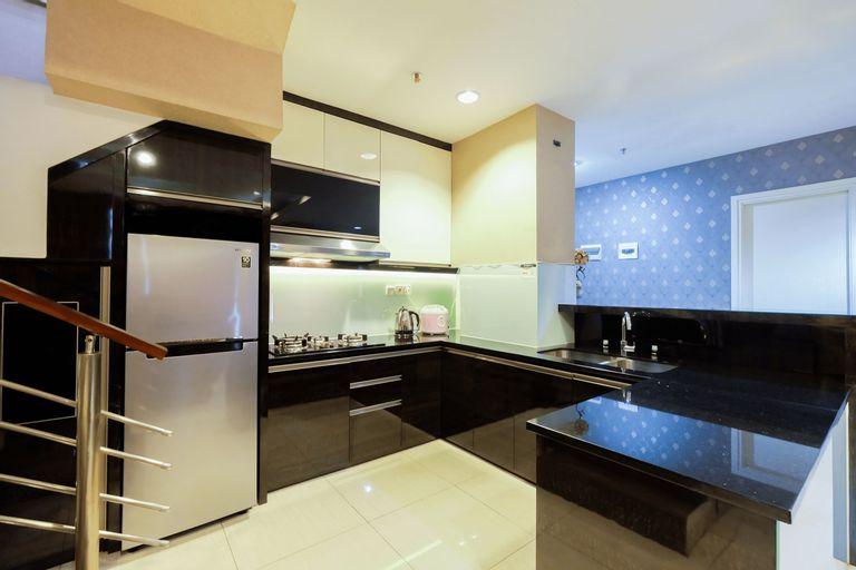 Penthouse 3BR Sunter Park View Apartment By Travelio (tutup permanen), Jakarta Utara