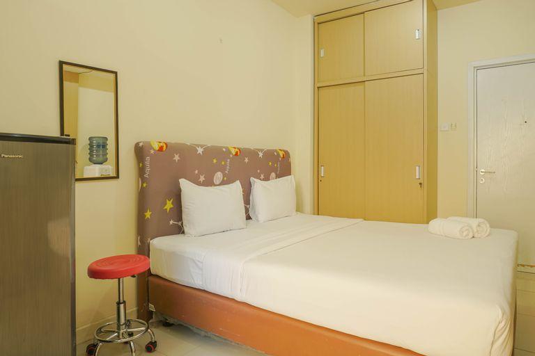 Great Choice Studio Green Pramuka Apartment By Travelio, Central Jakarta