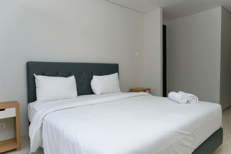Modern and Comfortable 2BR at The Masterpiece Condominium Epicentrum Apartment By Travelio, South Jakarta