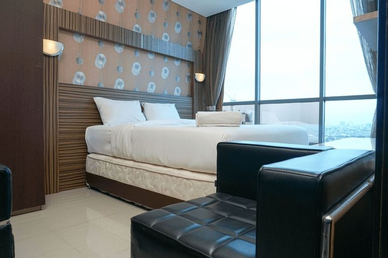 Comfy 1BR @ GP Plaza Apartment By Travelio, Central Jakarta