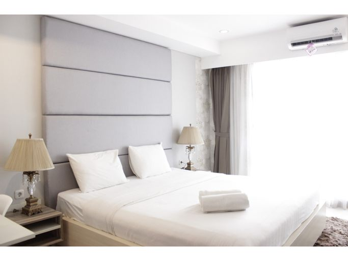 Gorgeous & Relaxing Studio Apartment at Tamansari Tera Residence By Travelio, Bandung