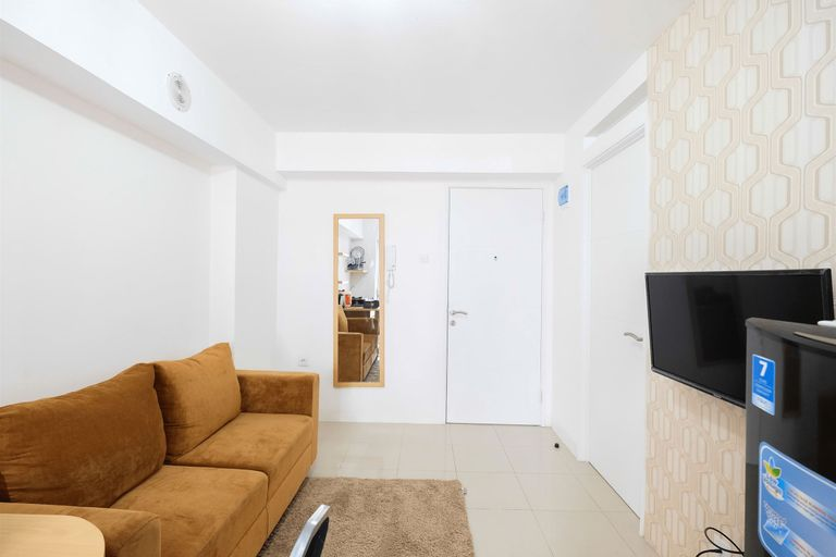 Cozy 2BR Bassura City Apartment with City View By Travelio, Jakarta Timur