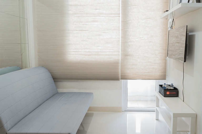 2BR Apartment with Sofa Bed at Green Pramuka City By Travelio, Central Jakarta