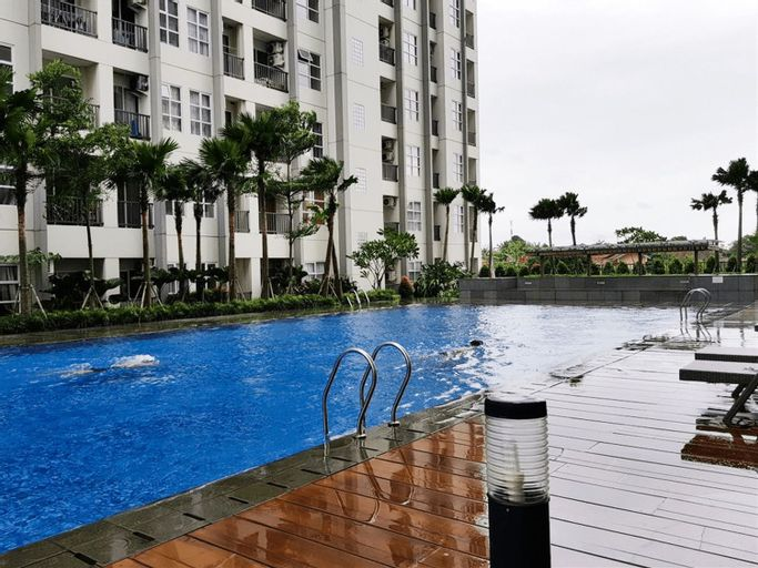 Luxury 1BR Saveria Apartement near AEON&ICE BSD By Travelio, Tangerang Selatan