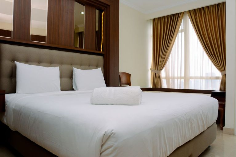 Fully Furnished and Minimalist Studio at Menteng Park Apartment By Travelio, Central Jakarta