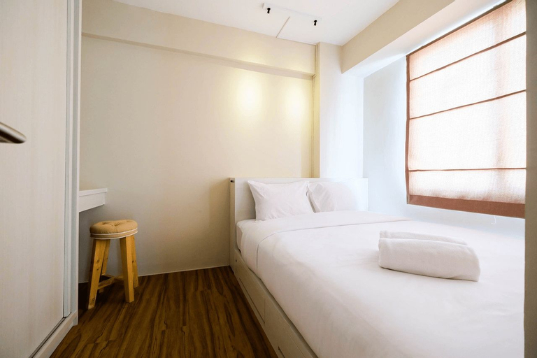 Connect to Pool 2BR Apartment at Bassura City By Travelio, East Jakarta