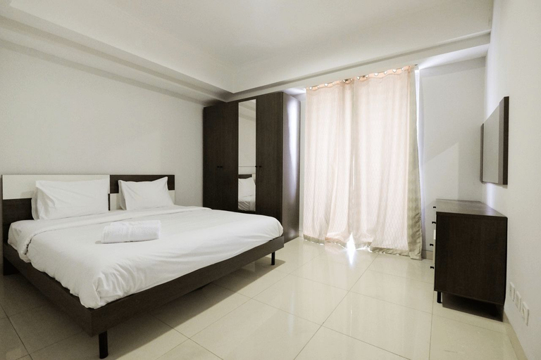 1BR with City View @ The Mansion Kemayoran Apartment By Travelio, North Jakarta