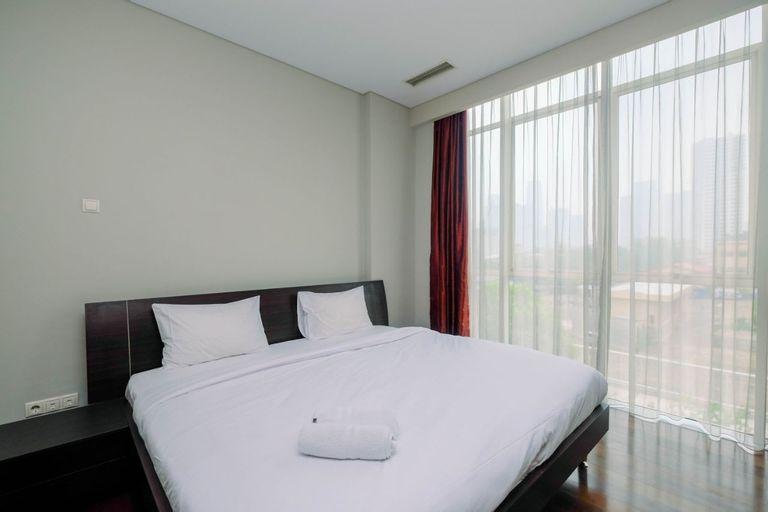 Spacious Pearl Garden 2BR Apartment By Travelio, Jakarta Selatan