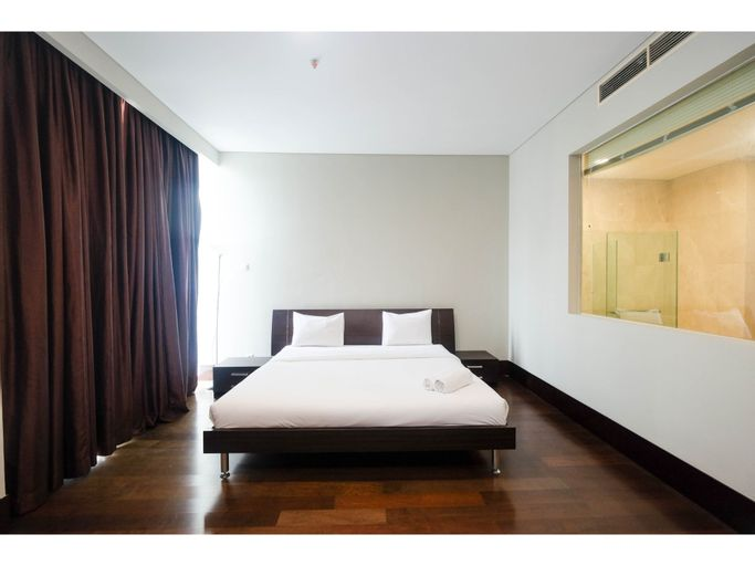 3BR Penthouse at Pearl Garden Apartment By Travelio, Jakarta Selatan