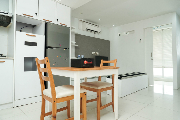 Relax 1BR Apartment at Menteng Square By Travelio, Central Jakarta