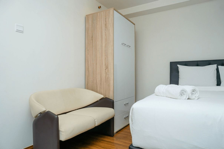 Best Spacious Studio Belmont Residence Puri Apartment By Travelio, West Jakarta