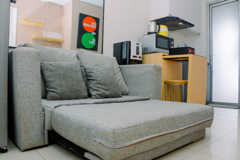 Beautiful and Cozy 2BR above Mall at Bassura City Apartment By Travelio, East Jakarta