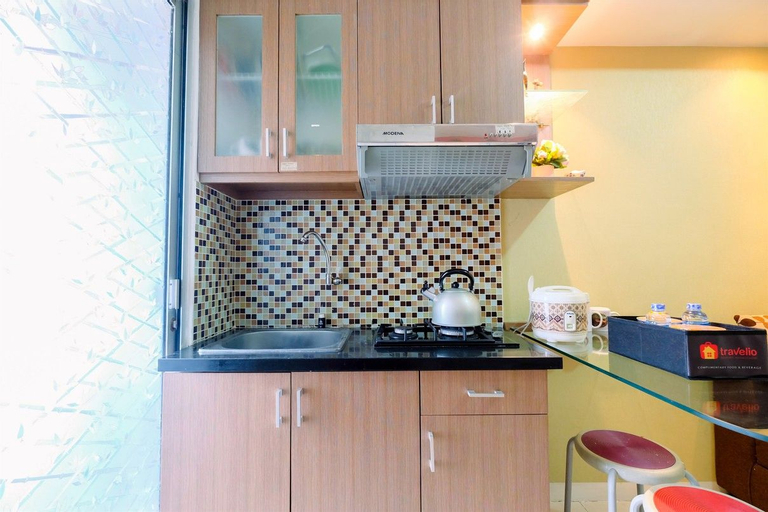 Contemporary 2BR at Green Palace Kalibata Apartment By Travelio, South Jakarta