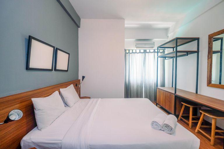Modern Furnished @ 1BR Margonda Residence 1 Apartment By Travelio, Depok