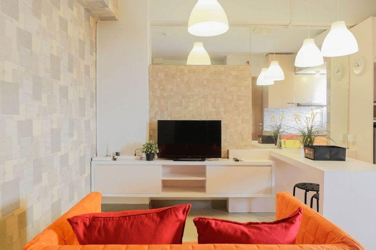 Tranquil 2BR Apartment at Bintaro Park View By Travelio, Jakarta Selatan