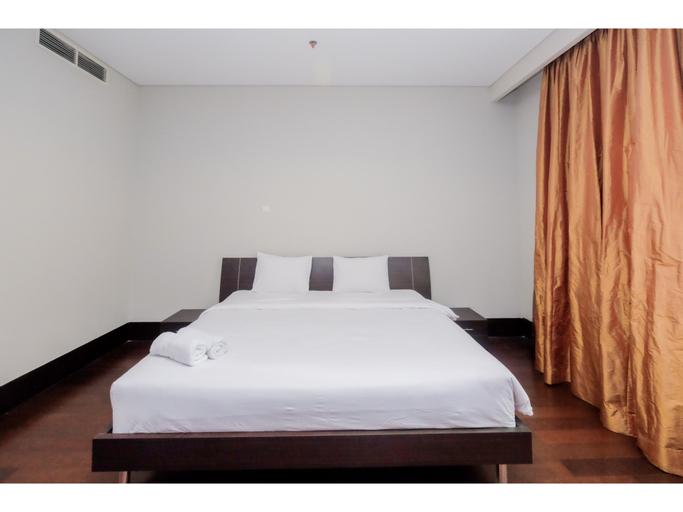 Relaxing Pearl Garden 3BR Apartment By Travelio, Jakarta Selatan