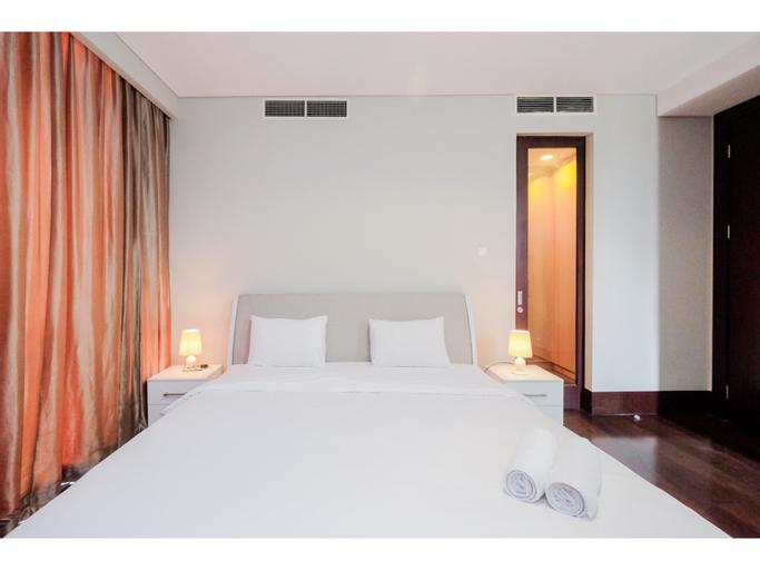 Exclusive Pearl Garden Cream Pearl 2BR Apartment By Travelio, Jakarta Selatan