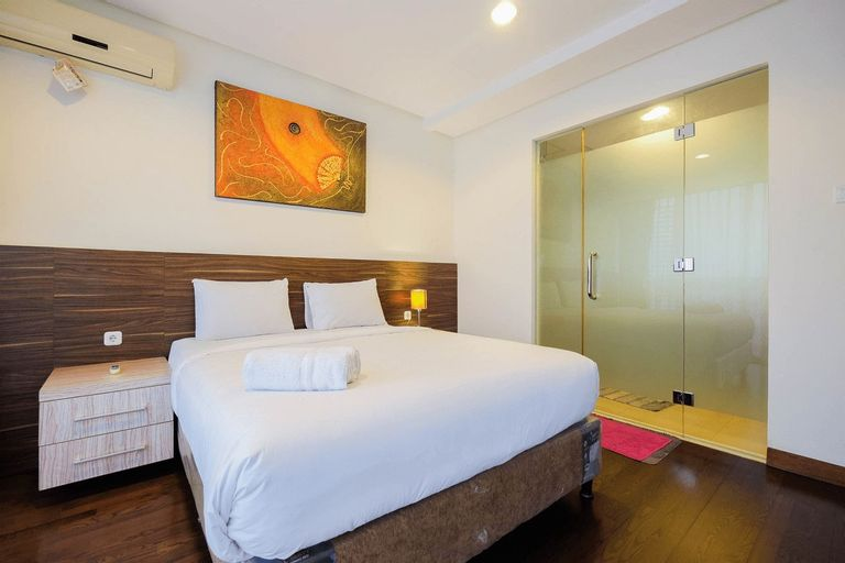 Elegant 1BR Apartment at Kemang Mansion By Travelio, South Jakarta