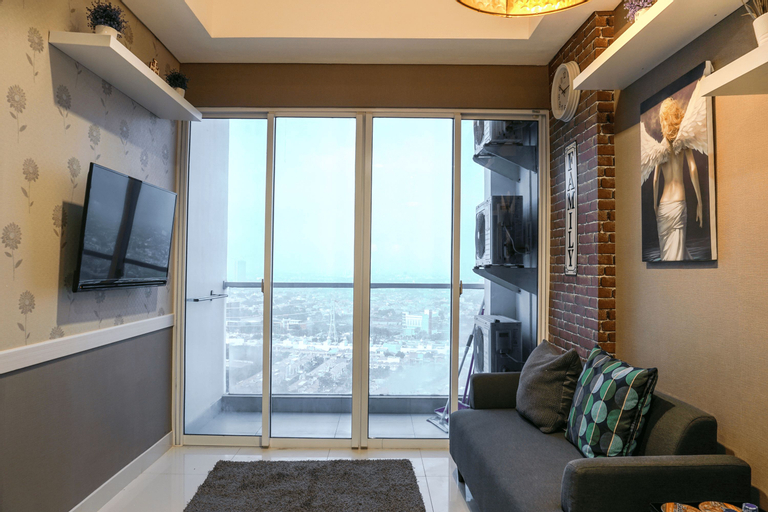 2BR Apartment at Puri Mansion near Puri Indah Mall By Travelio, Jakarta Barat