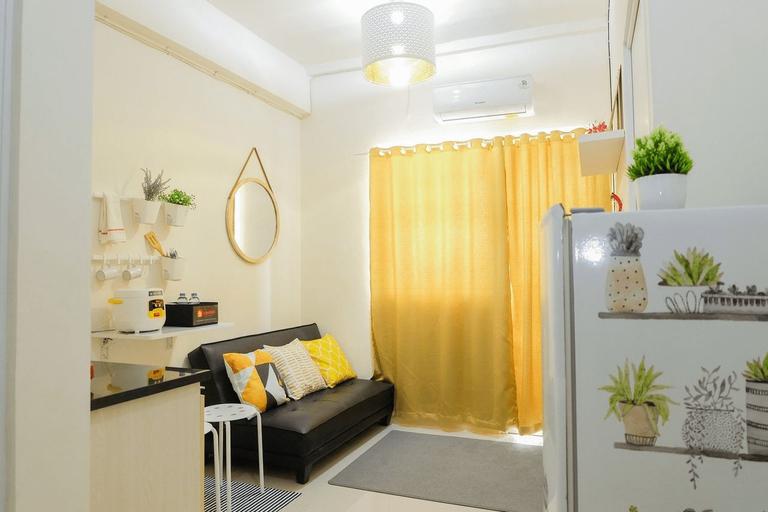 Minimalist 2BR at Green Pramuka City Apartment By Travelio, Central Jakarta