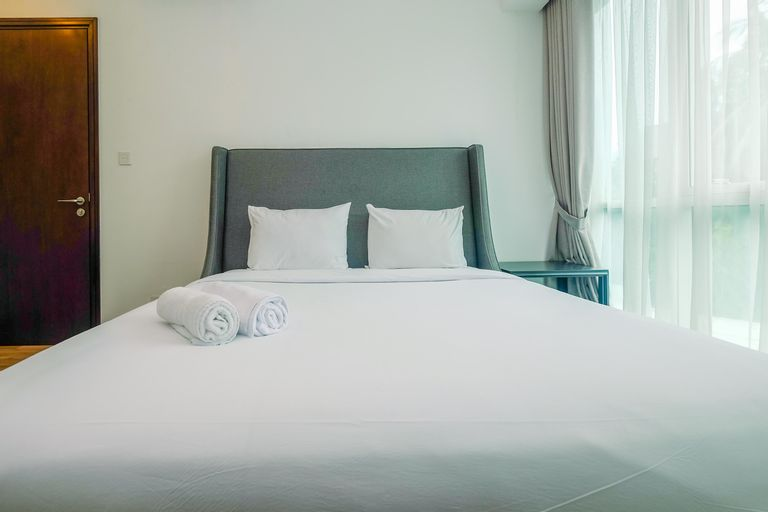 Exclusive 1BR with Working Room at Setiabudi Skygarden Apartment By Travelio, South Jakarta