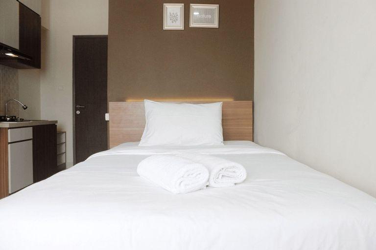 Relaxing Studio Apartment at Easton Park Residence Jatinangor By Travelio, Sumedang