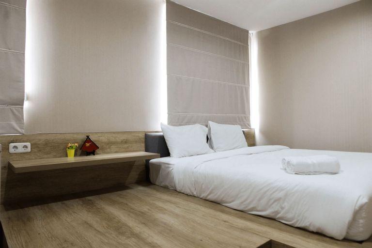 Homey 1BR at Enviro Apartment Cikarang By Travelio, Cikarang