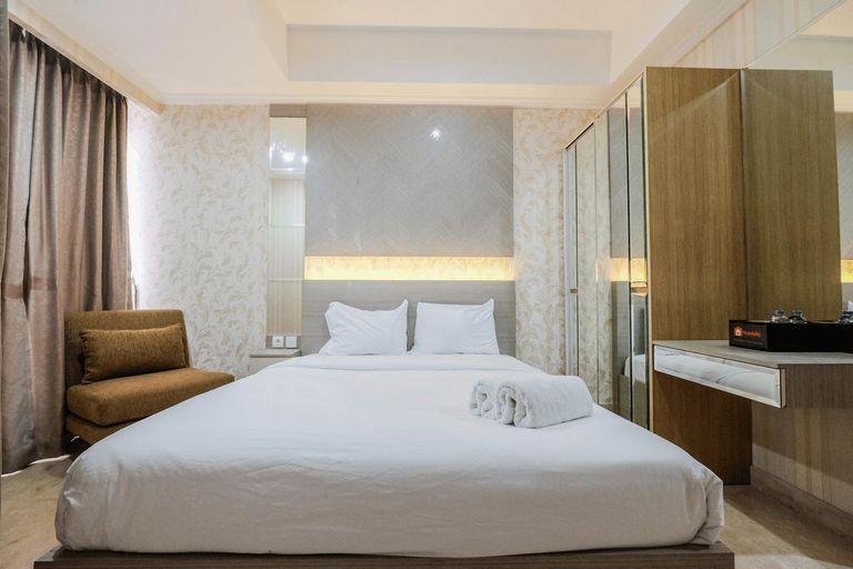Cozy Studio Room Apartment Menteng Park By Travelio, Central Jakarta