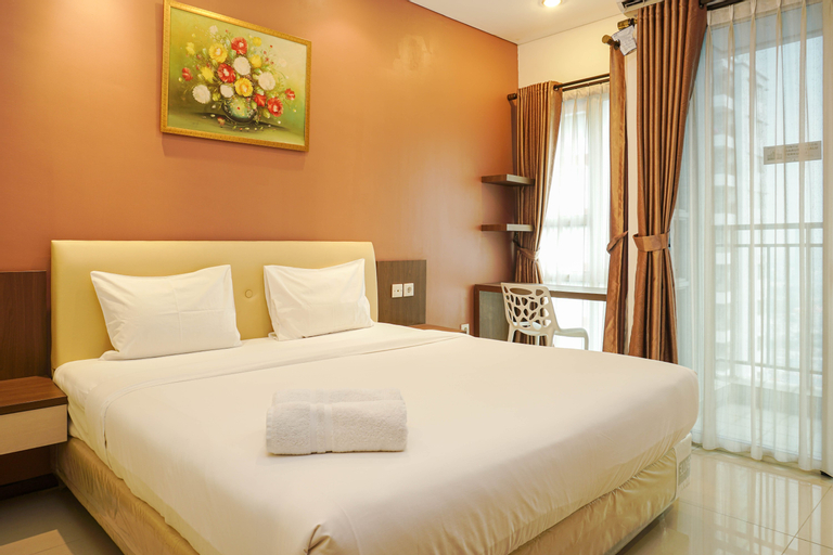 Cozy and Stylish 1BR Apartment at Thamrin Residences By Travelio, Central Jakarta