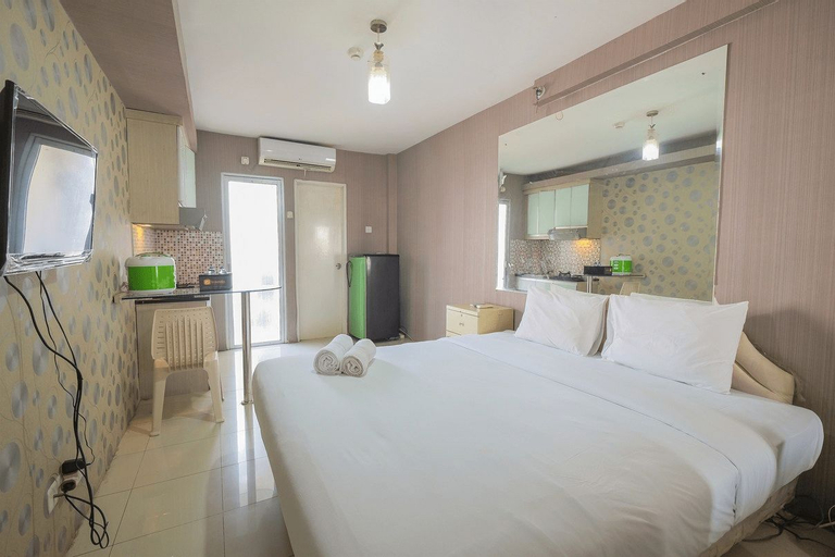 Simply Studio Apartment @ Green Palace Kalibata City By Travelio, Jakarta Selatan