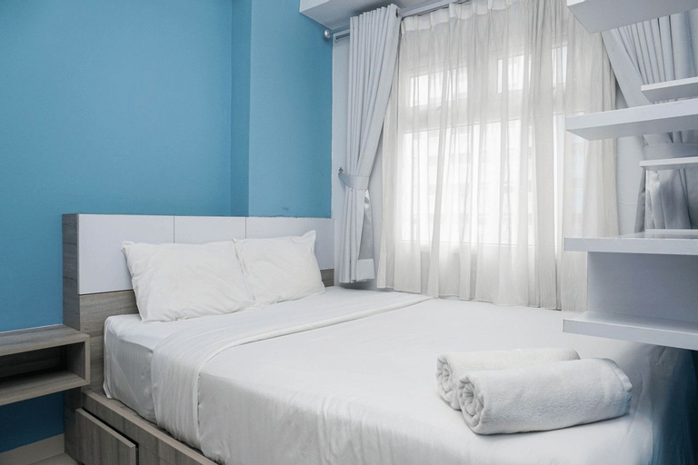 Relaxing and Warm 2BR @ Green Pramuka City Apartment By Travelio, Central Jakarta