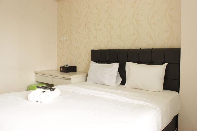 Homey Studio Room at Tamansari Panoramic Apartment By Travelio, Bandung