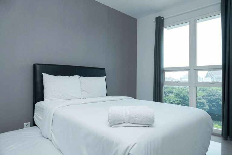 1BR Comfy Apartment at CitraLake Suites By Travelio, West Jakarta