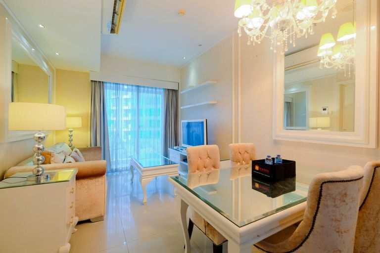 Modern and Comfortable 1BR at Casa Grande Apartment By Travelio, South Jakarta