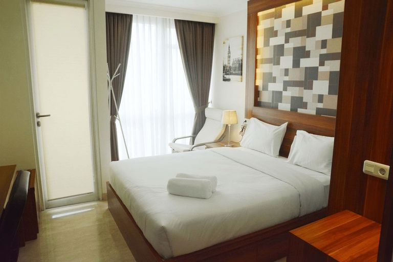 Warm and Best Studio Menteng Park Apartment By Travelio, Central Jakarta