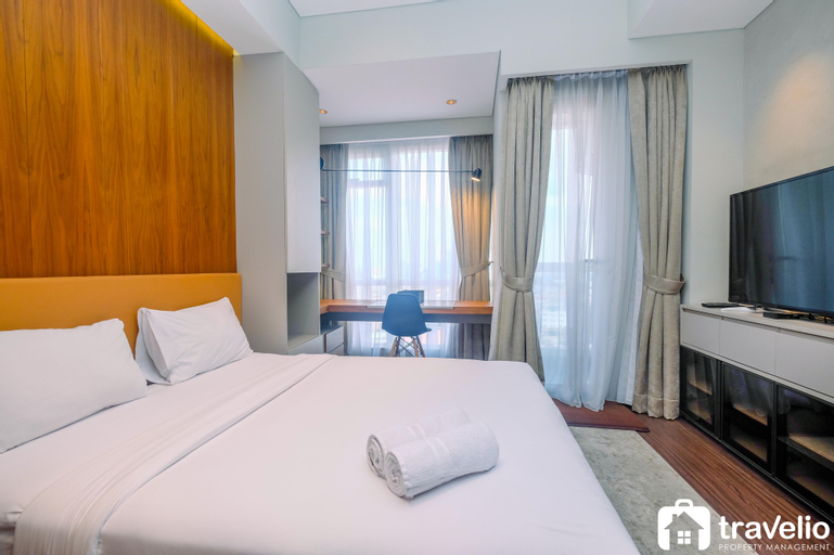 Exclusive and Modern Studio at Menteng Park Apartment By Travelio, Central Jakarta