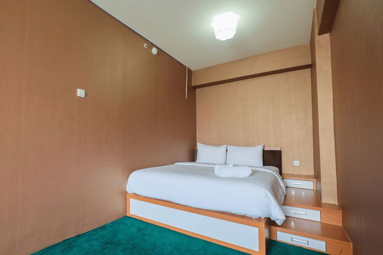 Pool View 1BR Apartment at Casablanca East Residence By Travelio, East Jakarta